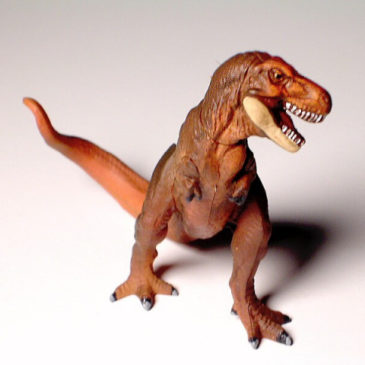 Dinomania Limited Edition Tyrannosaurus Rex T Rex Red