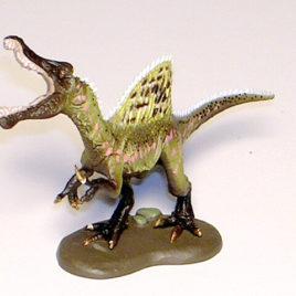 Dino Tales Series 5 Spinosaurus CC Lemon 03a Yellow