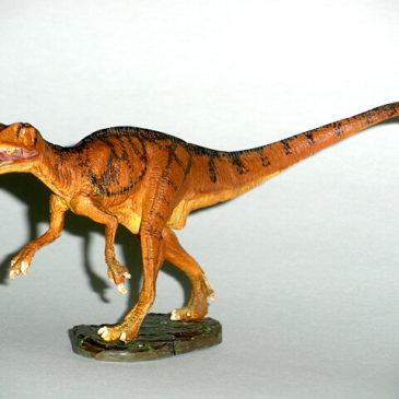 Fukuiraptor Figure Kaiyodo Fukui Dinosaur Museum Mint in Box