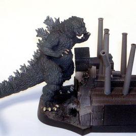 Art Works Collection 2 Sci-Fi Toho Diorama Set Godzilla 1955