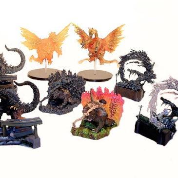 Art Works Collection 2 Sci-Fi Toho 8 Piece Diorama Set
