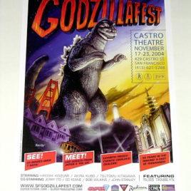 GodzillaFest 2004 Poster