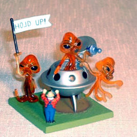 Collect club Series 2 Alien Holdup Mars Attack