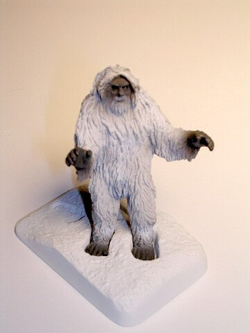 Mystery Museum Series 4 White Yeti Abominable Snowman
