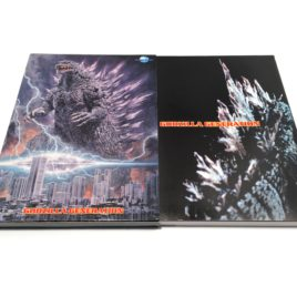 Godzilla Generation Artwork Postcard Book 1999 Millennium Japan