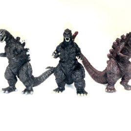 Shin Godzilla Capsule set 1954 1989 2106