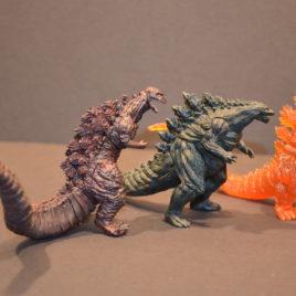 Godzilla 2017 Bandai High Grade Capsule set