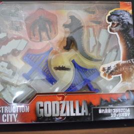 Destruction City Play Set Godzilla 2014 Muto
