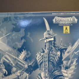 Gigan 2005 Toy Dream Project Limited Edition Chrome Diecast with Chainsaw Arms