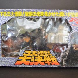 Godzilla Mothra Battra Play Set Bandai
