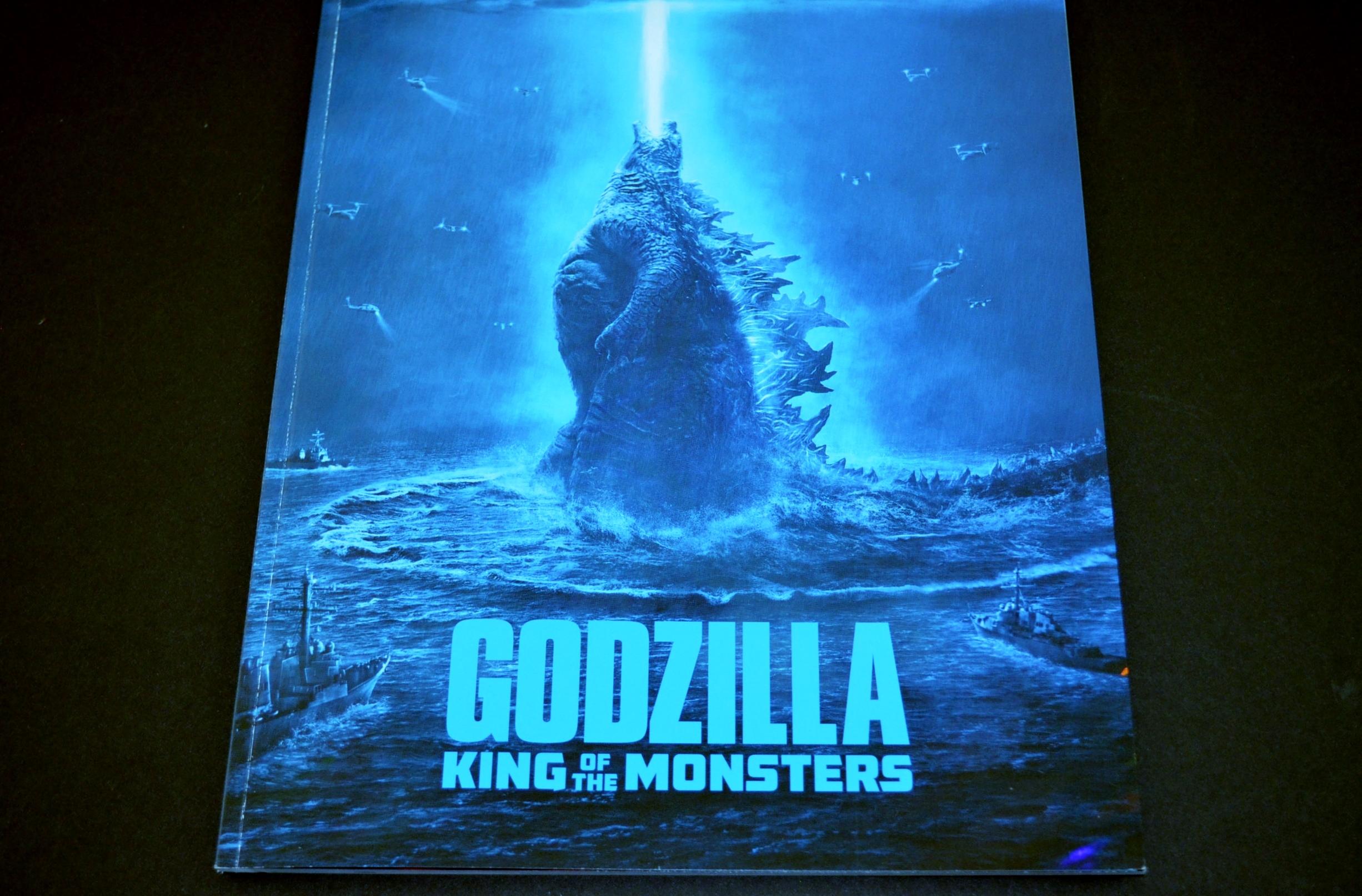 Godzilla King Of Monsters 2019 Movie Program Japan Clawmark Toys