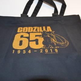 Godzilla 65 Anniversary Large Tote Bag