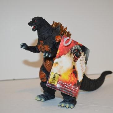 Movie Monster Series Burning Godzilla Bandai 2017
