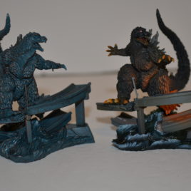 Art Works Collection 2 Sci-Fi Toho Diorama Set Godzilla 1999 Millennium