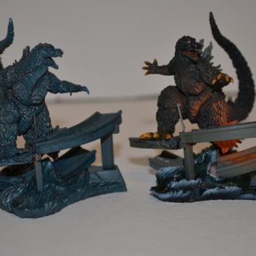 Art Works Collection 2 Sci-Fi Toho Diorama Set Godzilla 1999 Millennium