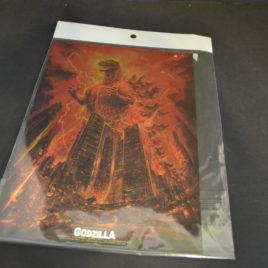 Godzilla vs Destroyer Chrome Mini Poster 1995
