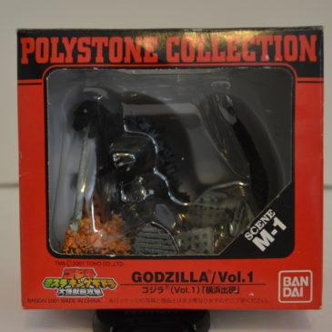 Godzilla Mothra King Ghidora GMK Bandai 2001 Polystone Collection Diorama