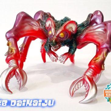 Club Daikaiju M1go Bat Rat Spider DesignerCon 2019 Exclusive SET