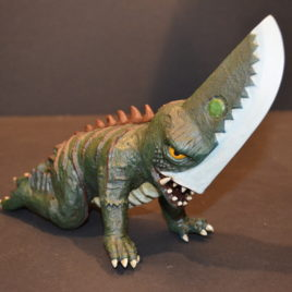 XPlus Guiron Knife Head Gamera Foe 1998 Polystone Version