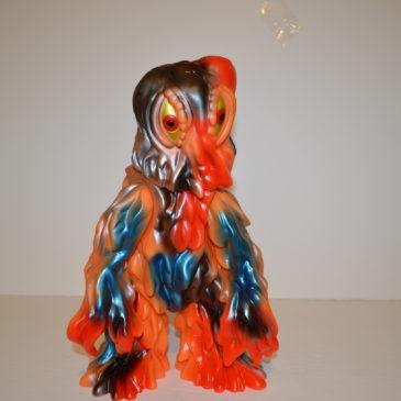 Marmit Giant Hedorah Smog Monster Mail Away Orange Version 2002