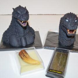 Godzilla Final Wars Bust-GMK Bust-50th Anniversary Final Box Set HMV Mgo