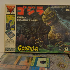 Godzilla Computer War Game Bandai 1984
