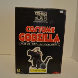 Costume Godzilla Combat Joe Real Action Figure Takara 1984