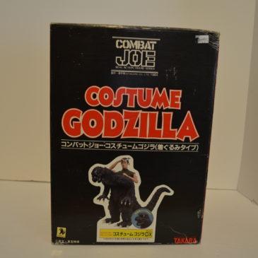 Costume Godzilla Combat Joe Real Action Figure Takara 1984