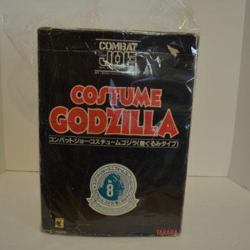 Combat Joe Costume Godzilla Takara 1984 Costume Only