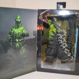 NECA Bile Godzilla 1989 VS Biollante Figure