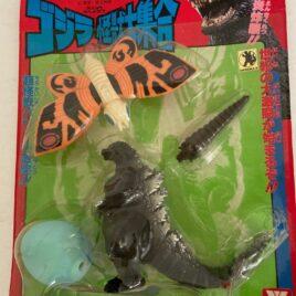 Godzilla Mothra  4 piece Set Yutaka 1992