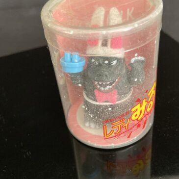 Takara Lady Milk Mini Godzilla Easter Bunny Figure
