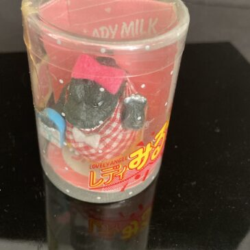 Takara Lady Milk Shopping Bag Godzilla Figure