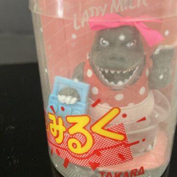 Takara Lady Milk Boom Box Girl Godzilla Figure