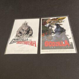 Godzilla Post Card Set